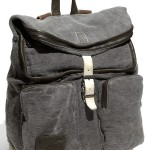 Marc by Marc Jacobs Washed Canvas Backpack01
