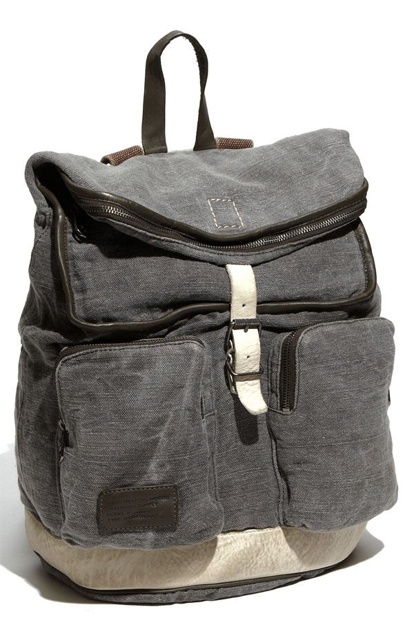 Marc by Marc Jacobs Washed Canvas Backpack01 Marc by Marc Jacobs Washed Canvas Backpack