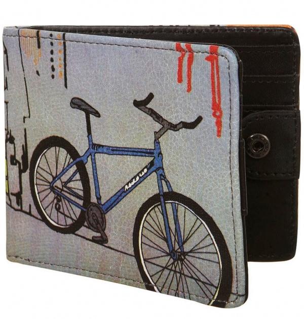 Topman Bike Print Wallet Topman Bike Print Wallet
