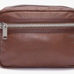 marc by marc jacobs brown leather dopp kit