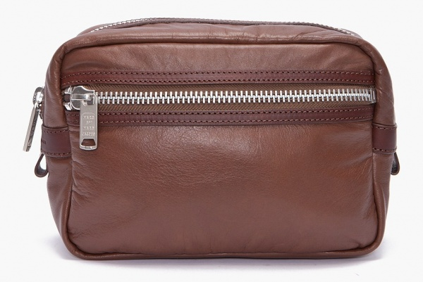 marc by marc jacobs brown leather dopp kit Marc by Marc Jacobs Brown Leather Dopp Kit
