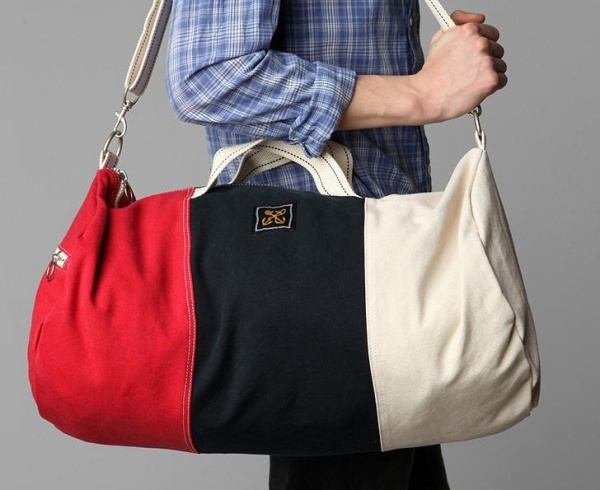 Anchor Colour Block Duffel Bag Anchor Colourblock Duffel Bag