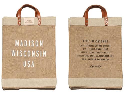 Apolis + Context Madison Market Bag Apolis + Context Madison Market Bag