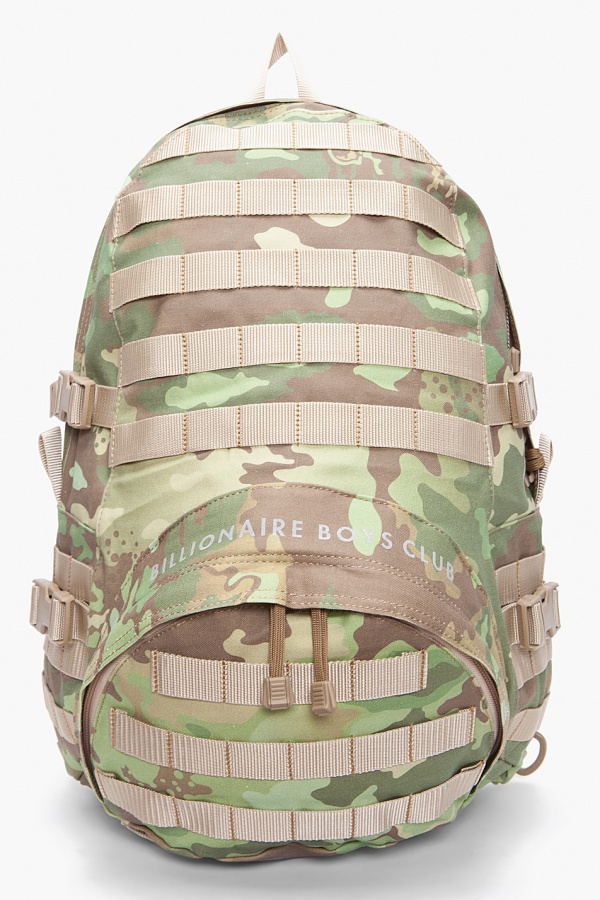 Billionaire Boys Club Camouflage Backpack Billionaire Boys Club Camouflage Backpack