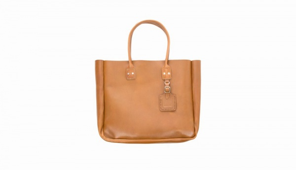 Billykirk Taupe Leather Tote 1 Billykirk Taupe Leather Tote