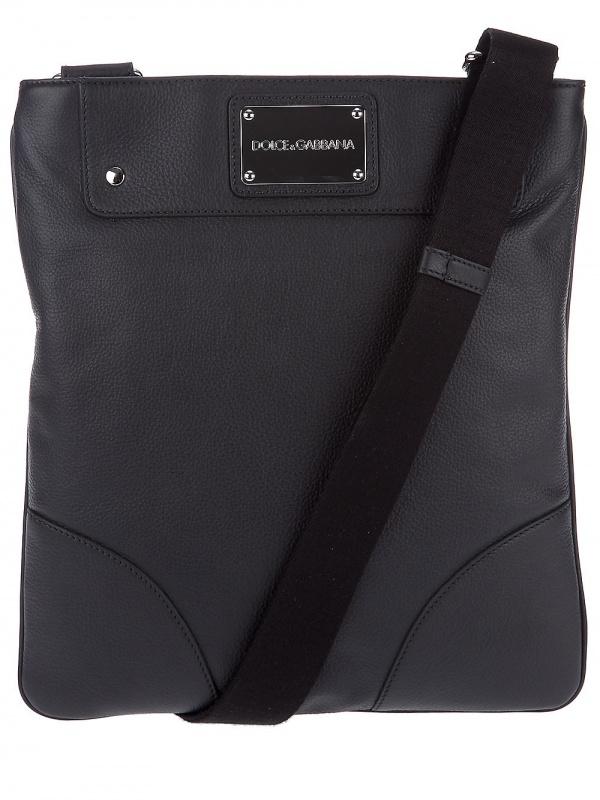 Dolce Gabbana Textured Postman Bag01 Dolce & Gabbana Textured Postman Bag
