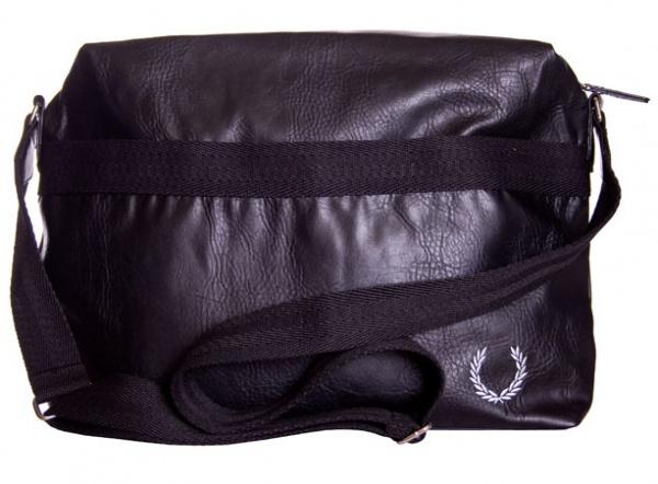 Fred Perry Mens Deconstructed Shoulder Bag Storm 37