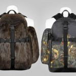 Givenchy Fall _ Winter 2011 Fur & Dog Print Backpacks01