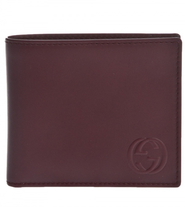 Gucci Folding Wallet Gucci Logo Embossed Folding Wallet