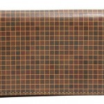 Jack Spade Check Print Card Holder