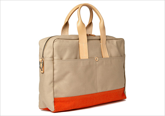 Levi's Made Crafted Canvas Holdall Bag Levi's Made & Crafted Canvas Holdall Bag