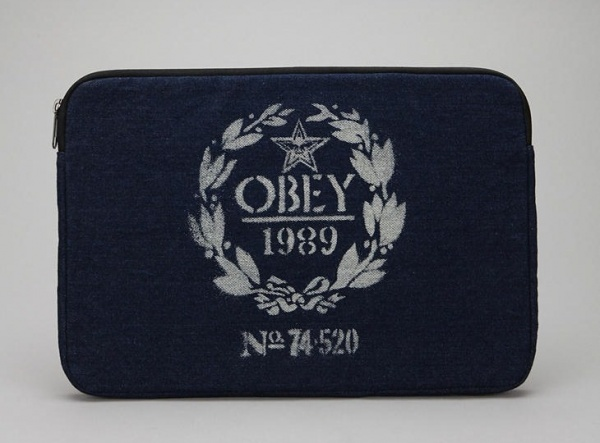 Obey Flour Sack Laptop Case Obey Flour Sack Laptop Case