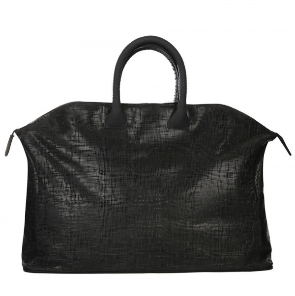 Zagliani Perforated Leather Holdall01 Zagliani Perforated Leather Holdall