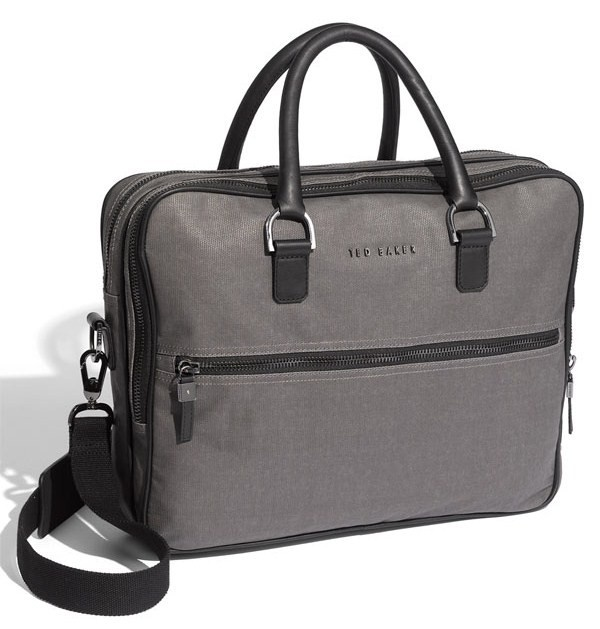 ted baker coated canvas briefcase Ted Baker Coated Canvas Briefcase
