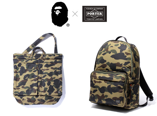 Bape x Porter Bag Collection01 Bape x Porter Bag Collection