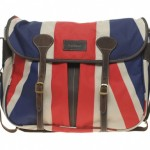 Barbour Union Jack Messenger Bag