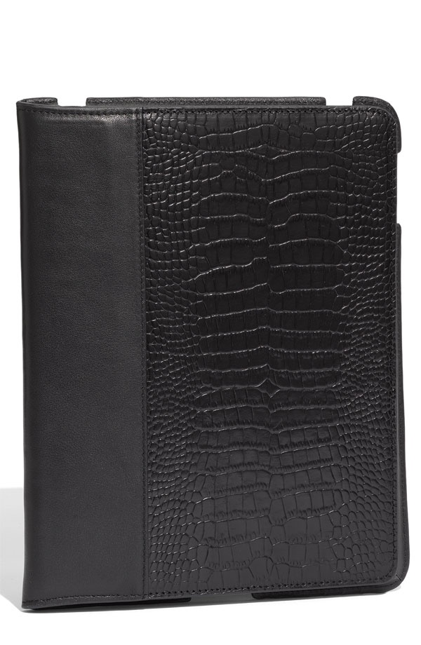 Bodhi Embossed Leather iPad Case 1 Bodhi Embossed Leather iPad Case