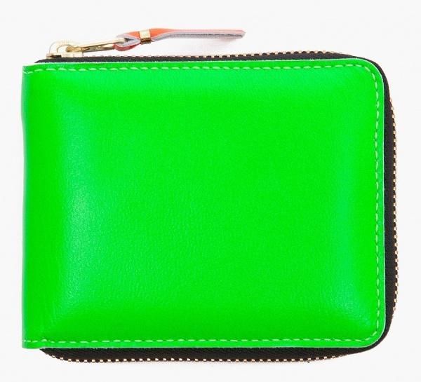 Comme Des Garcons Super Fluorescent Wallet01 Comme Des Garcons Super Florescent Wallet