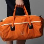 Fred Perry Vintage Barrel Bag