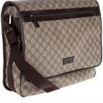 Gucci Monogrammed Messenger Bag