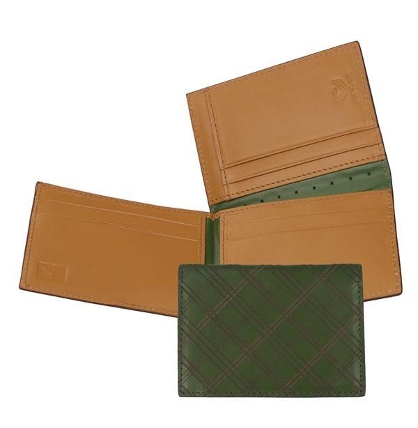 J Fold Plaid Marshal Trifold Wallet J.Fold Plaid Marshal Trifold Wallet