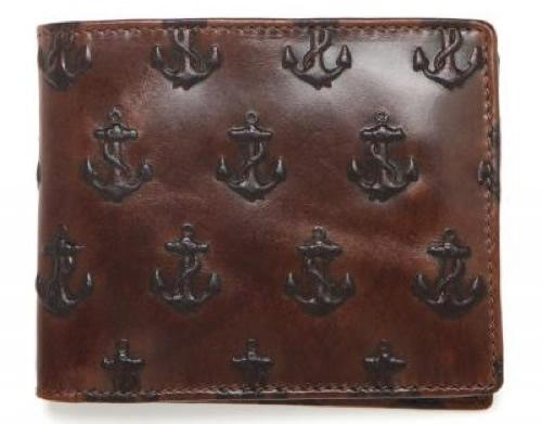 Jack Spade Embossed Anchor Wallet Jack Spade Embossed Anchor Wallet