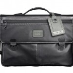 Tumi 'Alpha' Slim Leather Briefcase