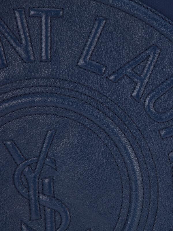 Yves Saint Laurent Logo Embossed Messenger Bag | The Carry
