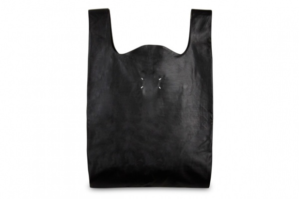 maison martin margiela leather tote bag Maison Martin Margiela Leather Tote Bag