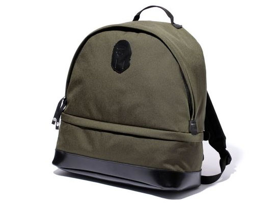 Bape Ape Head Patch Bag1 Bape Ape Head Patch Day Bag