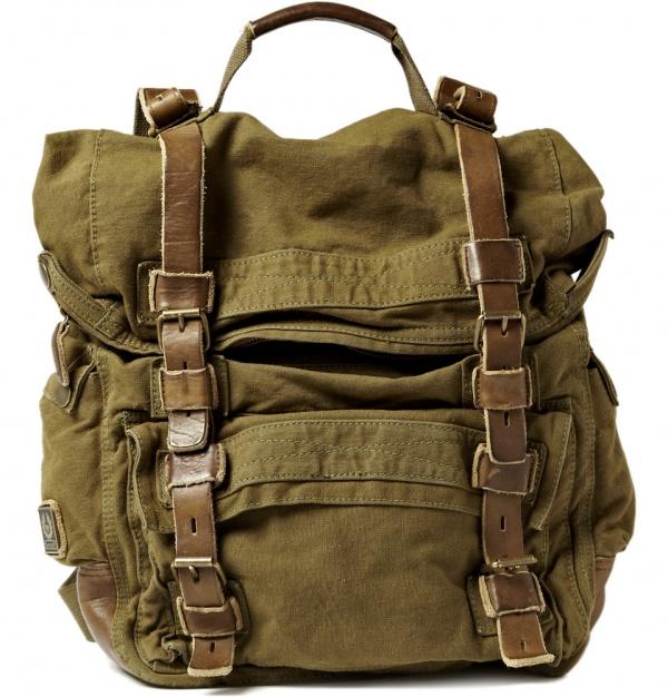 Belstaff Double Sized Backpack Belstaff Double Sized Backpack
