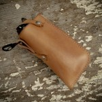 Draught Leather Glasses Case