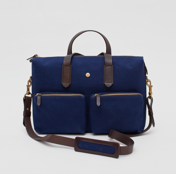Mismo MS Work Bag in Navy Blue 1 Mismo M/S Work Bag in Navy Blue