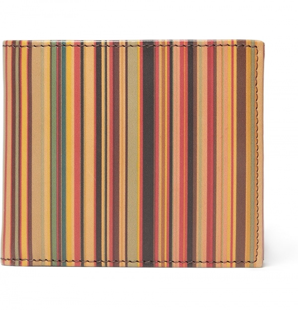 PS by Paul Smith 1 PS by Paul Smith Striped Leather Wallet