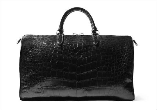 Ralph Laurens Purple Label Alligator Bag Ralph Laurens Purple Label Alligator Bag
