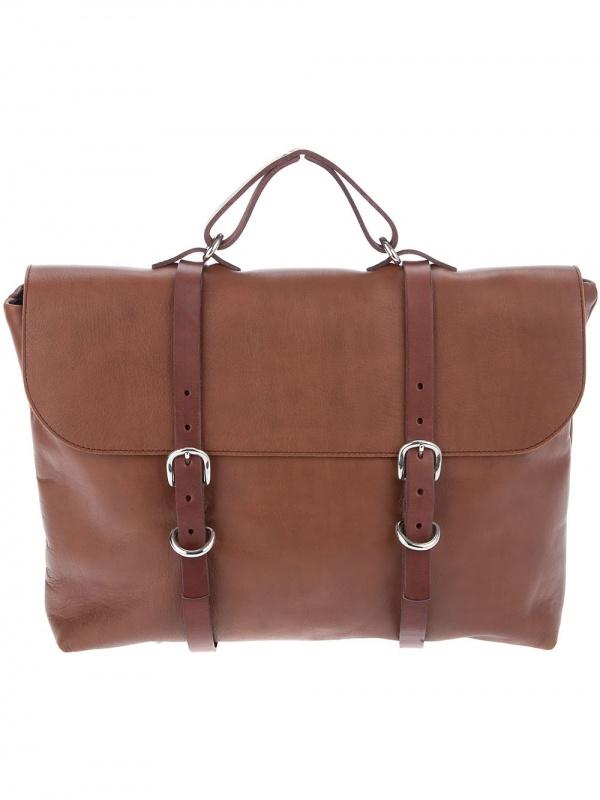 Steve Mono Top Handle Bag1 Steve Mono Top Handle Briefcase