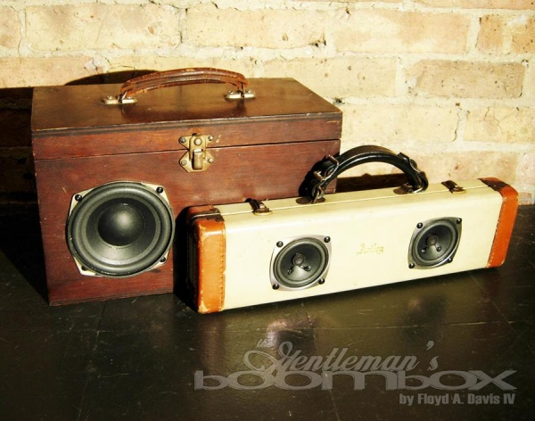 The Gentlemans Boombox by Artpentry 2 The Gentlemans Boombox by Artpentry