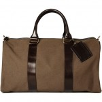 APC Canvas and Leather Travel Bag1