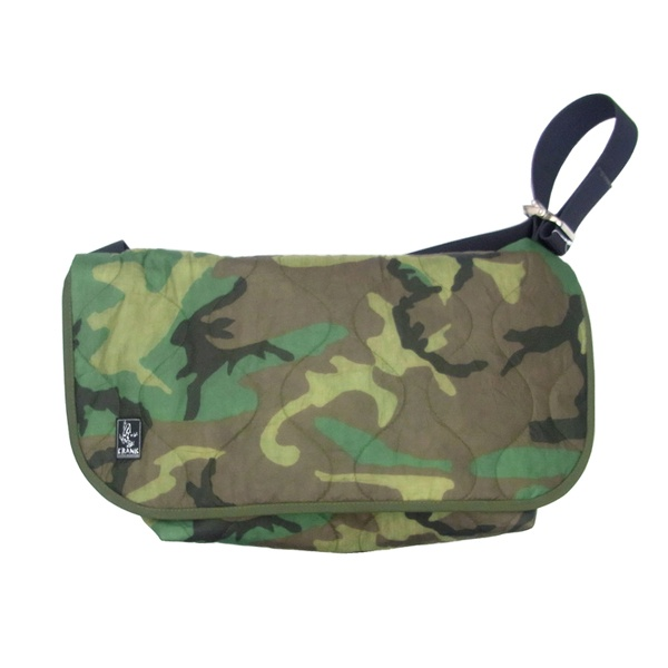 Crank X Futura Laboratories Cammo Messenger Bags1 Crank & Futura Laboratories   Camouflage Messenger Bag