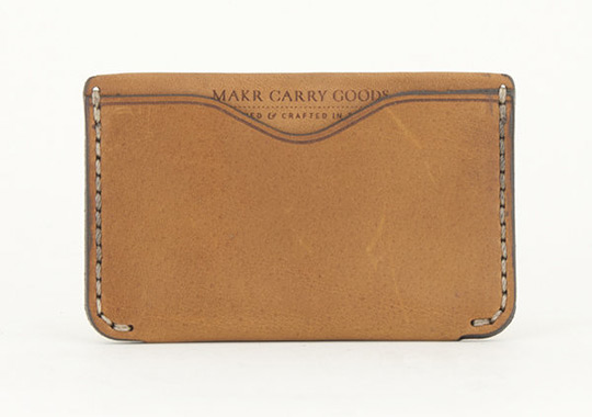 Makr Horizon Leather Wallet Makr Horizon Two Wallet