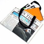 Megawing Newspaper Tote Bag1