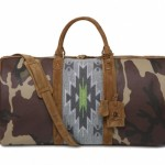 Trussardi 1911 Navajo Camo Weekender Bag