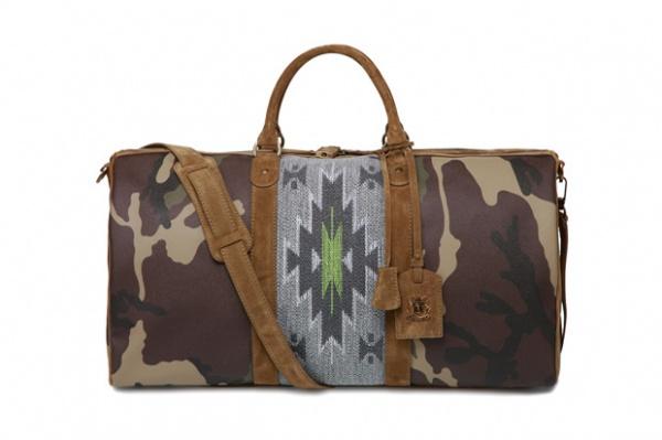 Trussardi 1911 Navajo Camo Weekender Bag Trussardi 1911 Navajo Camo Weekender Bag