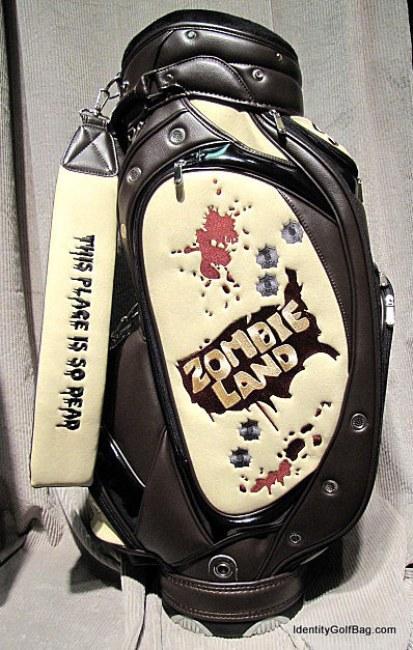 Zombieland golfbag identity02 Identity Zombieland Golf Bag