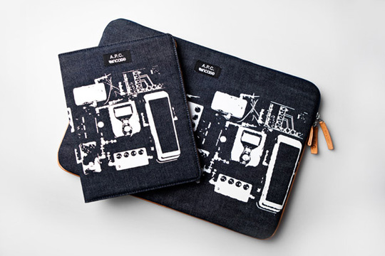 apc incase 1 A.P.C. x InCase Laptop Sleeve & iPad Case