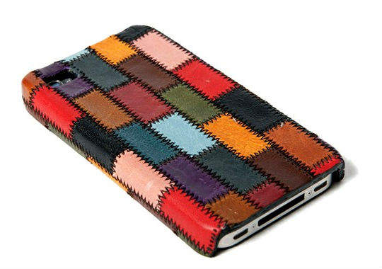 glamb iPhone 4 Case Glamb Patchwork Leather iPhone Case