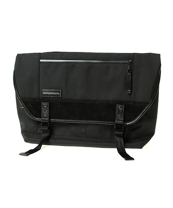 messenger bag black 01 Master Piece x Isetan Men's – Messenger Bags