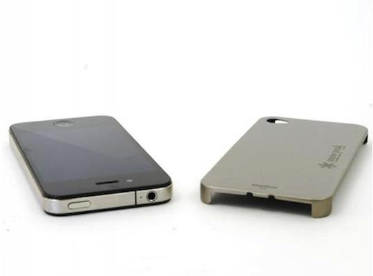 Snow Peak iPhone 4 Titanium Case