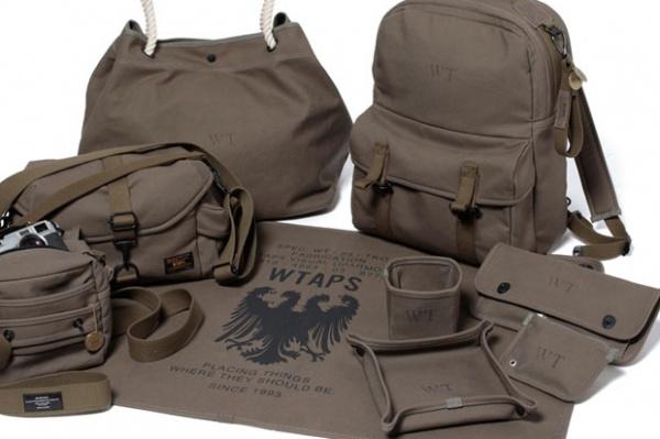 wtaps military canvas collection 1 WTAPS Military Canvas Collection