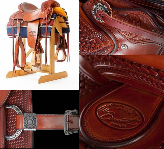 2012 centennial saddle riga7 The Most Expensive Saddle Ever